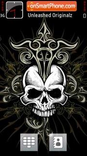 Skulls V5 01 es el tema de pantalla