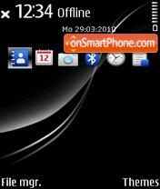 Piano black 01 es el tema de pantalla