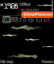 At Night tema screenshot