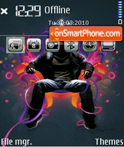 Energy of music 01 theme screenshot