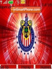 Chivas team theme screenshot