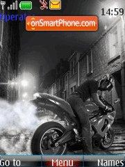 Sport Bike tema screenshot