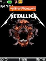 Metallica 18 theme screenshot