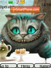 Cheshire Cat theme screenshot