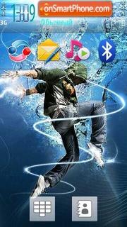 Blue Water Dance es el tema de pantalla