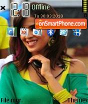 Genalia Dsouza theme screenshot