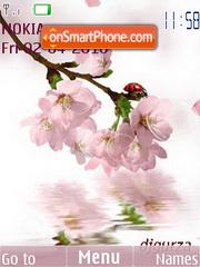 Spring animet(swf 2.0) tema screenshot