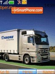 European Trucks theme screenshot