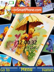 Pooh Clock es el tema de pantalla