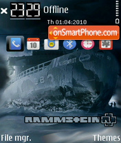 Rammstein 11 theme screenshot