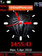 Spider Clock theme screenshot