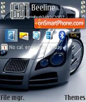 Скриншот темы BMW Concept