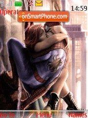 Spiderman kissing theme screenshot