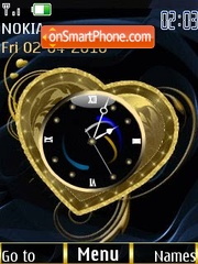 Heart clock animated4 es el tema de pantalla