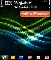 Green n blue 2 Altvic Theme-Screenshot