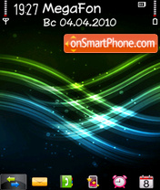 Green n blue Altvic theme screenshot
