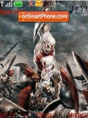 God of War es el tema de pantalla