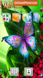 Butterfly 12 theme screenshot