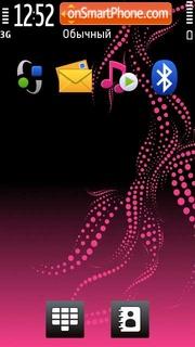 Abstract Pink 01 theme screenshot