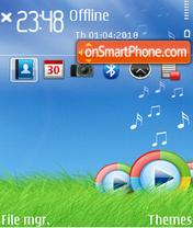 Music 5313 theme screenshot