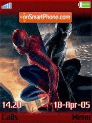 Spidermanblack es el tema de pantalla