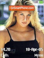 Anna Kournikova es el tema de pantalla
