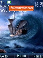 Скриншот темы Storm (swf 2.0)