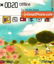 Fall V2 theme screenshot