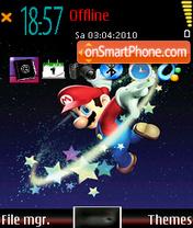 Mario galaxy 2008 es el tema de pantalla