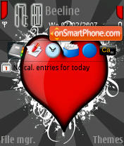 Redheart Acheavdo theme screenshot