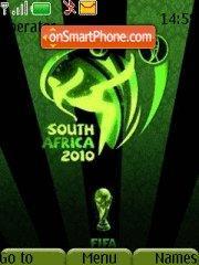 2010 Word Cup tema screenshot