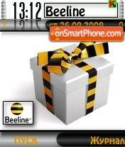 Скриншот темы Beeline 2