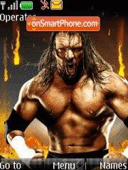 WWE Hhh With Tones theme screenshot