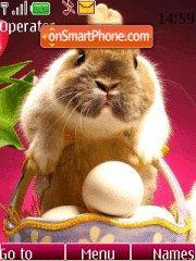 Скриншот темы Easter Bunny 03