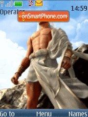God Of War Zeus theme screenshot
