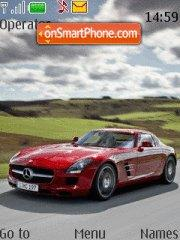 Mercedes Sls tema screenshot