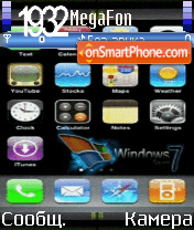 Animated iphone seven theme screenshot