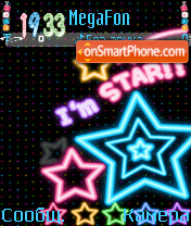 I,m star!! theme screenshot
