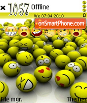 Smileys 05 es el tema de pantalla