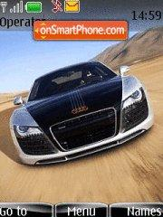 Audi R8 10 theme screenshot