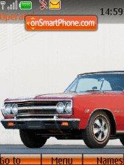 Chevrolet Chevelle Malibu SS Convertible theme screenshot