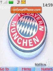 Скриншот темы Bayern Munich 02