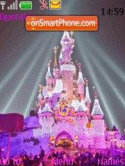 Скриншот темы Disney Castle