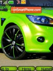 Скриншот темы Ford Focus RS extreme edition