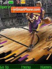 Kobe Bryant 03 theme screenshot