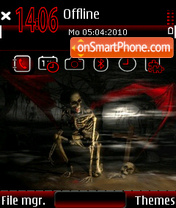 Scary Night theme screenshot