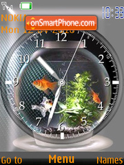 GoldFish Clock Theme-Screenshot