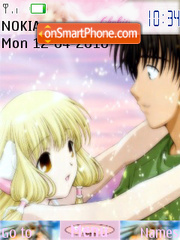 Chobits anime theme screenshot