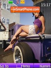Hot Rod Girl es el tema de pantalla