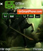 Gloomy Rider By Afonya777 es el tema de pantalla